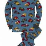 Hatley Hot Rod Long John Pyjamas. PJACARS003, Available In 7 & 8 YEARS